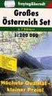 9783850843409: Austria 7 Regional Maps: FB.OSET-SC