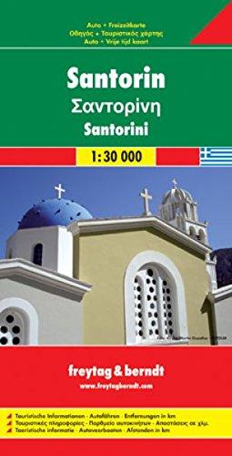 9783850845908: Carte routi�re : Santorin, Thira