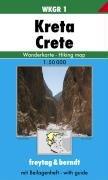 9783850848091: Carte de randonnée : Kreta