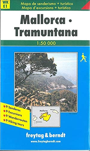 9783850848114: Mallorca, Northwest (Walking Maps) (English, French and German Edition)