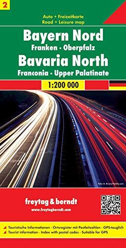 9783850848572: Baviera centro nord 1:200.000: Road Map (Auto karte)
