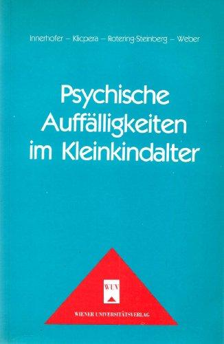 9783851140156: Psychische Auffälligkeiten im Kleinkindalter