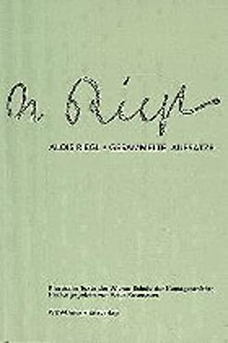 9783851142617: Gesammelte Aufsatze (Klassische Texte der Wiener Schule der Kunstgeschichte) (German Edition)