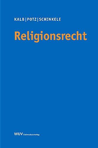 9783851144758: Religionsrecht