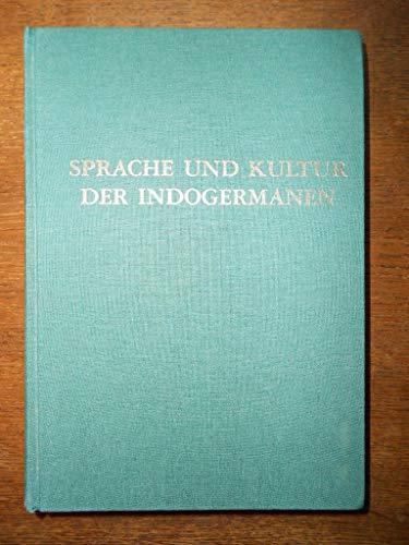 9783851246681: Sprache und Kultur der Indogermanen: Akten der X. Fachtagung der Indogermanischen Gesellschaft, Innsbruck, 22.-28. September 1996 (Innsbrucker Beiträge zur Sprachwissenschaft)
