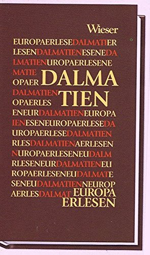 "Dalmatien (""Europa Erlesen""): Strutz, Johann (Hrsg.):"
