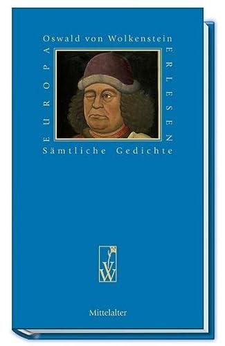 9783851296709: Oswald von Wolkenstein