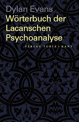 9783851321906: Wörterbuch der Lacanschen Psychoanalyse
