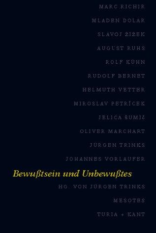 9783851322378: Mesotes. Jahrbuch f�r philosophischen Ost-West-Dialog / Bewusstsein und Unbewusstes