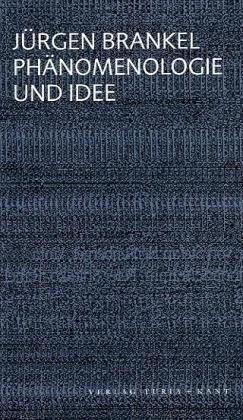 9783851325836: Phänomenologie und Idee