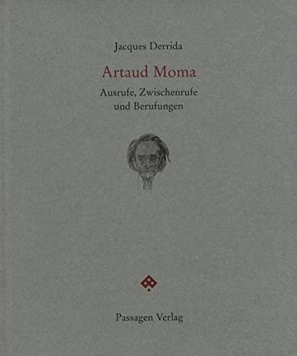 9783851655506: Artaud Moma