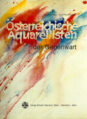 9783851753783: Österreichische Aquarellisten der Gegenwart (German Edition)