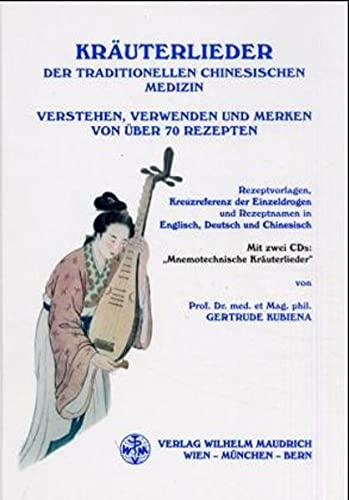 9783851757484: Kräuterlieder der Traditionellen Chinesischen Medizin, m. 2 Audio-CDs