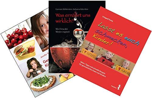 9783851759754: Ernährungspackage: 3 Ernährungsratgeber: Was ernährt uns wirklich?/Lasst es euch schmecken, Kinder/Gesund essen im Kindergarten