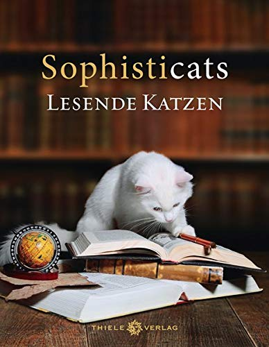 9783851793482: Sophisticats: Lesende Katzen
