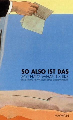 So also ist das - So That's: Görtschacher, Wolfgang; Laher,
