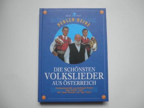 9783852234618: Die schönsten Volkslieder aus Österreich: Perlenreihe