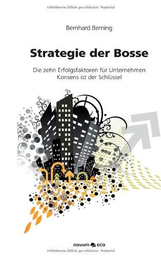 9783852518473: Strategie Der Bosse (German Edition)