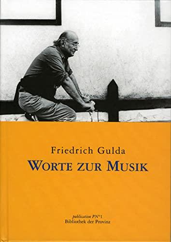 9783852525303: Worte zur Musik (Livre en allemand)
