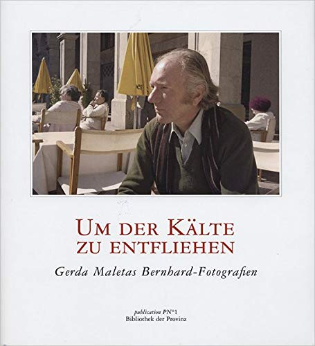 9783852526584: Um der K�lte zu entfliehen: Foto-Essay. Gerda Maletas Bernhard-Fotografien