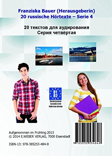 9783852534848: 20 russische Hörtexte - Serie 4, 1 Audio-CD