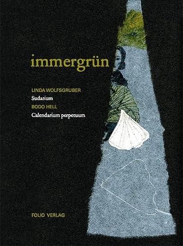 9783852565811: Immergrün: Sudarium. Calendarium