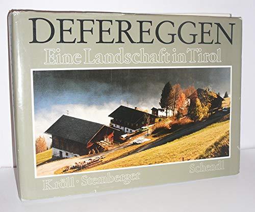 9783852680842: Defereggen. Eine Landschaft in Tirol