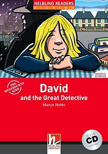 9783852720166: David and the great detective. Livello 1 (A1). Con CD Audio