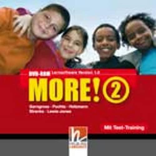 9783852720463: MORE! 2 DVD-ROM mit Schularbeiten-Training: Einzelplatzversion