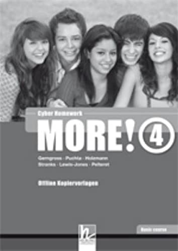 9783852722085: MORE! 4 Basic Course Cyber homework - Offline Kopiervorlagen