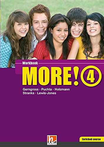 9783852722122: MORE! 4 Enriched Course Workbook: Sbnr. 145523