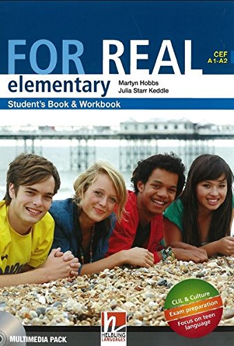 9783852722351: FOR REAL Elementary Student's Pack: Student's Book, Workbook, CD-ROM, LINKS, LINKS Audio-CD, Starter Book, Wordlist