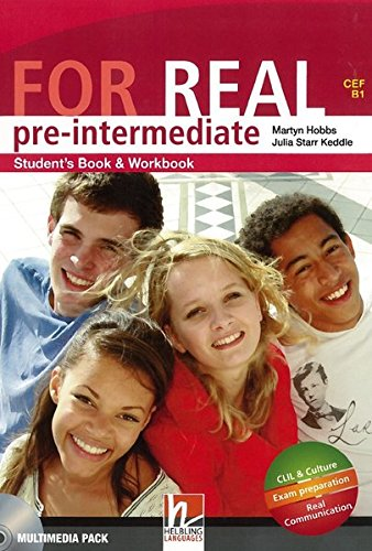 9783852722405: For Real Pre-Intermediate Student's Book & Workbook Multimedia Pack ( CEF A1 - A2 )