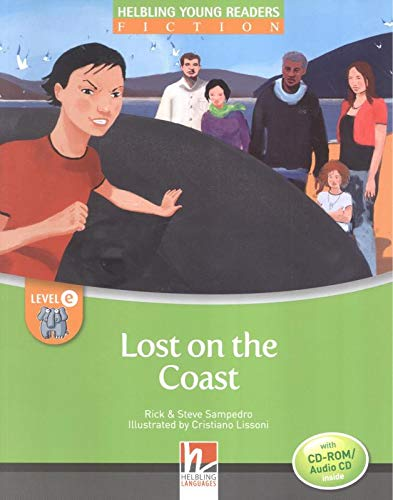Lost on the Coast, mit CD-ROM/Audio-CD, Level e : Helbling Young Readers Classics, Level e/4. Lernjahr und höher