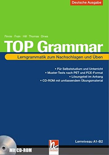 9783852722504: TOP Grammar (Deutsche Ausgabe): Lerngrammatik zum Nachschlagen und Üben inkl. CD-ROM, Schulbuchnummer 155.678