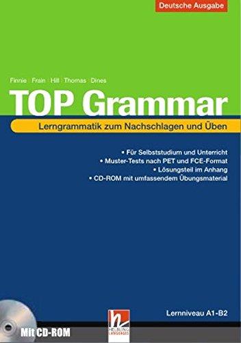 9783852722504: Top Grammar (Deutsche Ausgabe), m. CD-ROM und Lösungen