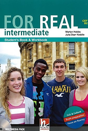 9783852722573: FOR REAL Intermediate Student's Pack: Student's Book, Workbook, CD-ROM, LINKS, LINKS Audio-CD, Wordlist