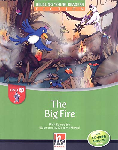 9783852723112: The Big Fire - - Young Reader Level A with Audio CD