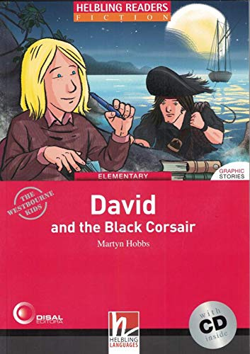 9783852723365: David and the Black Corsair. Livello 3 (A2). Con CD-Audio