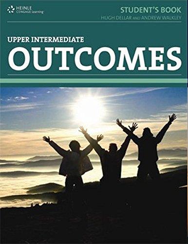 9783852723617: Outcomes Upper-Intermediate Student's Book, with PIN-Code and Wordlist deutsch-englisch
