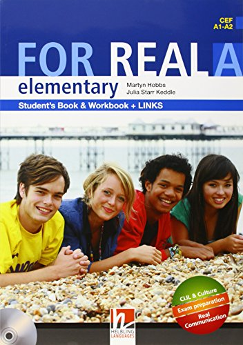 9783852723754: For Real Elementary Student's Book & Workbook and Links ( CEF A1 - A2 )