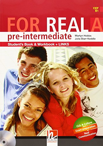 9783852723792: For Real Pre-Intermediate Student's Book & Workbook and Links A (CEF B1 )