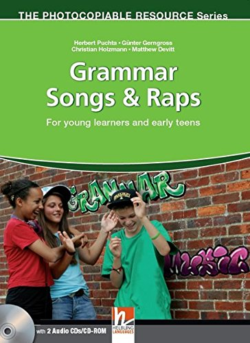 9783852724232: Grammar songs & raps. Con CD Audio. Con CD-ROM