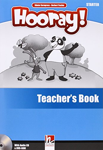 9783852724454: Hooray! Let's play! Starter. Teacher's book. Con CD-Audio (Helbling Primary)