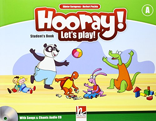 9783852724492: Hooray! Let's play! Level A. Student's book. Per la Scuola elementare. Con CD-Audio
