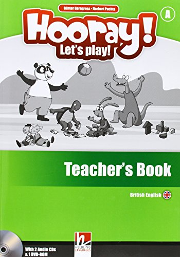 9783852724508: Hooray! Let's play! Level A. Teacher's book. Con CD-Audio