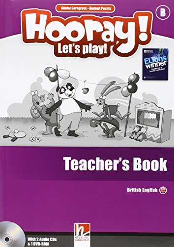 9783852724553: Hooray! Let's play! Level B. Teacher's book. Con CD-Audio (Helbling Primary)