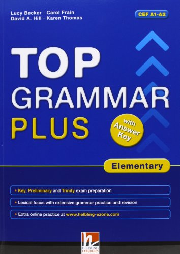 9783852725666: Top Grammar Plus with Answer Key - Elementary