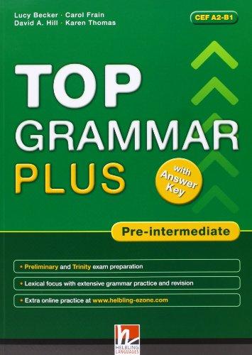 9783852725673: Top Grammar Plus with Answer Key - Pre-Intermediate