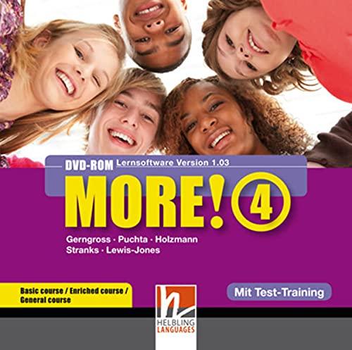 9783852726083: MORE! 4 DVD-ROM mit Schularbeiten-Training: Einzelplatzversion für Basic/Enriched/General